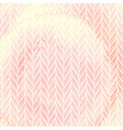 Knitted pattern on watercolor texture vector image