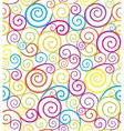 Swirl seamless composition vector image