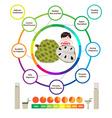 Amazing Health Benefits of Custard Apple vector image
