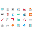 Appliances icons set vector image
