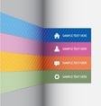 Infographics minimal vector image