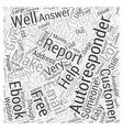 Making Money With Autoresponders Word Cloud vector image