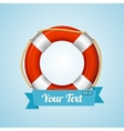 Life Bouy Background Sailor vector image