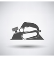 Electric planer icon vector image
