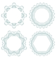 Set of guilloche rosettes vector image vector image