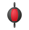 punching bag for boxing 04 vector image
