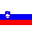 flag of Sloveniia vector image