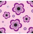pansy tile vector image vector image