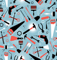 pattern of tools for repairing vector image