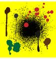 color splash vector image