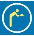 Servant icon vector image