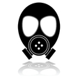 Gas mask vector image vector image