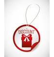 trade discount design vector image