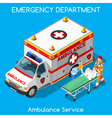 Hospital 18 People Isometric vector image