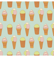 vintage icecream vector image