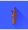 Amphora Icon Isolated vector image