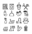 Household Appliances and Tools Icons Set vector image