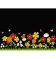 Flower Meadow vector image vector image