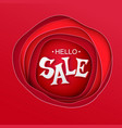 big sale inscription vector image