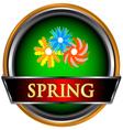 Spring icon vector image