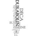 you can buy deca durabolin online or offline text vector image