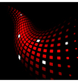 3d dynamic background vector image