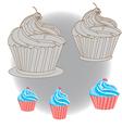 CapCake vector image