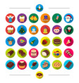 new year festivities and other web icon in vector image