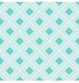 Blue rhombus geometric seamless pattern vector image