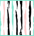 grunge trendy lines seamless pattern vector image