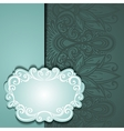 Colored Ornate Background vector image
