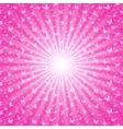 Pink shiny backgrounds for design Abstract retro vector image