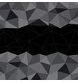 Black Mosaic Background Creative Business Design vector image