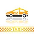 Taxi cab icon vector image vector image