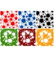 blots color vector image vector image