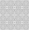 monochrome diamond seamless pattern vector image