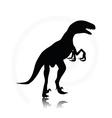 dinosaurs raptor vector image