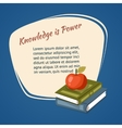 Knowledge Is Power Poster vector image