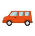 tourism van vehicle vector image
