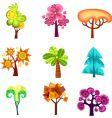 design tree vector image vector image