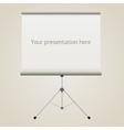 projector screen vector image