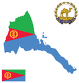 State of Eritrea Flag vector image