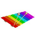 xylophone vector image vector image