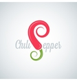 chili pepper background vector image