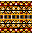 Tribal African background vector image vector image