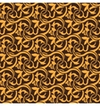 Brown seamless pattern vector image vector image