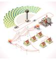Energy 18 Infographic Isometric vector image