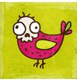 Bird Skeleton Cartoon vector image