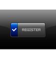 Register Button vector image