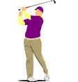 al 0230 golf vector image vector image